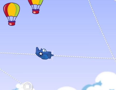 Jogos de avião: Steep Dive: Airmail.