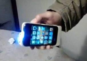 Senjata dari Casing iPhone Smartphone