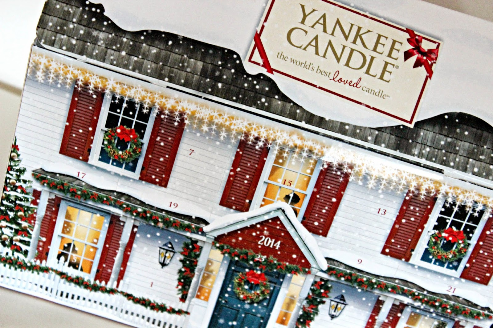 Yankee Candle House Advent Calendar 2014 Shallowwonderland