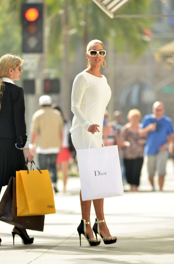 She shopped at Gucci, Dior and Fendi