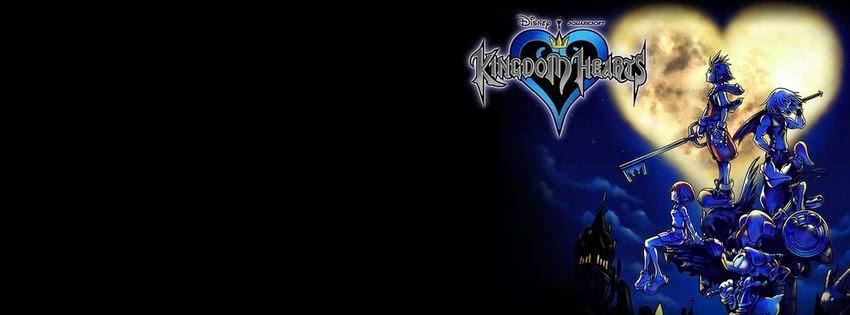 Couverture facebook avec image kingdom hearts