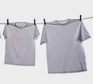Como clarear roupas brancas, Melhor método