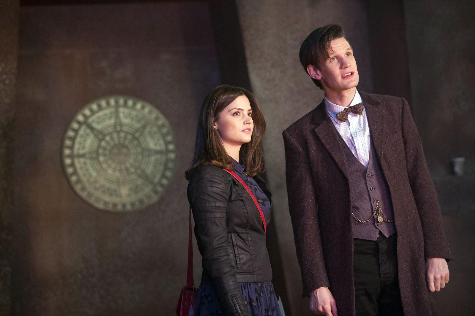 Matt Smith Doctor Who and Clara