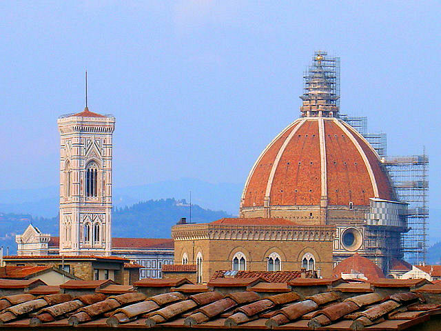 Unmistakable Florentine Skyline.