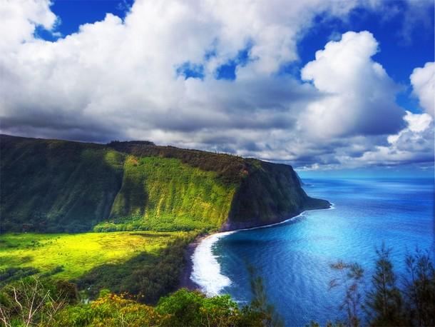 Hawaii Waipio Valley, Big Island