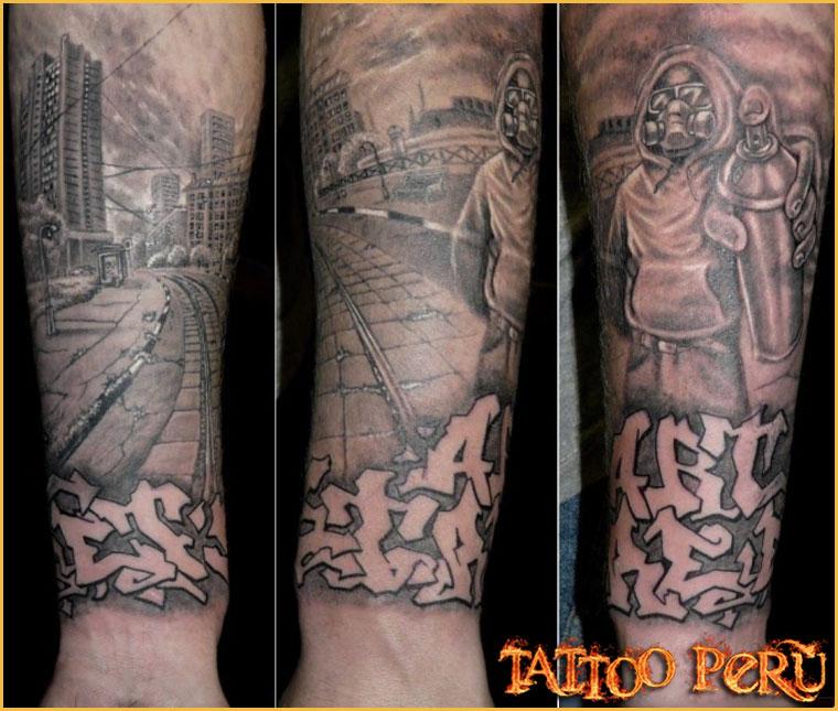 Tatuajes: Consejos antes de hacerse un Tatuaje 01_tatuaje_de_la_ciudad_y_graffitis