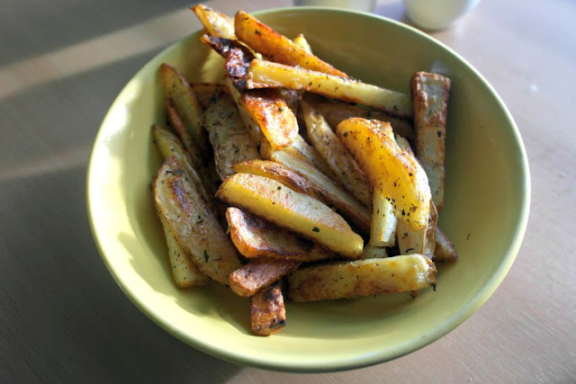 RECIPE: Homemade Potato Chips (Fries)