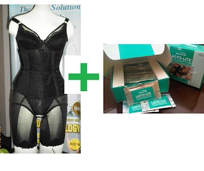 testimoni nurich lactolite yogurt drink dan premium beautiful corset untuk menguruskan badan