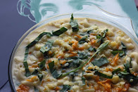 Wild Garlic Macaroni Cheese