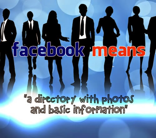 Facebook meaning