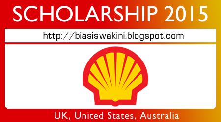 Shell Malaysia Scholarships 2015