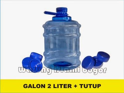 Jual Tutup Isi Ulang Galon 2 Liter Air Kengen Water