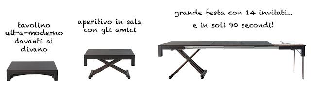 tavolo estensibile lg lesmo
