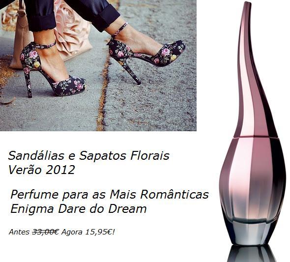 sapatos florais e sandálias moda 2012 verão