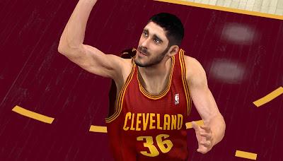 NBA 2K13 Omri Casspi Cyberface Mod