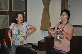 Marilu Dantas e Denise Bastos