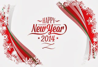 New-Year-2014-Free-Wallpaper-red-text-white-Background