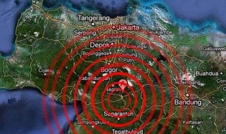 Gempa Robohkan Dua Rumah Warga Sukabumi