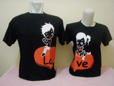 Model Kaos Couple Terbaru