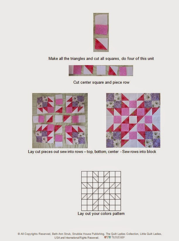 how to make a quilt pattern book