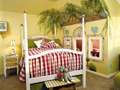 dormitorio niña fantasia
