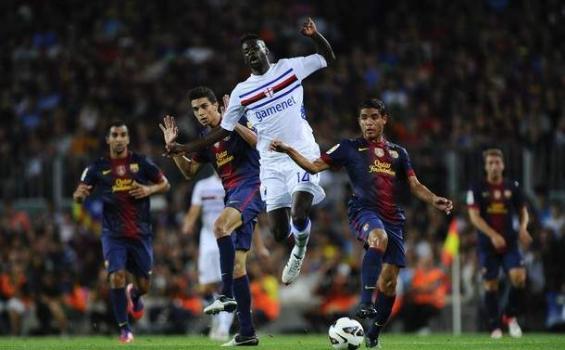 Barcelona vs Sampdoria