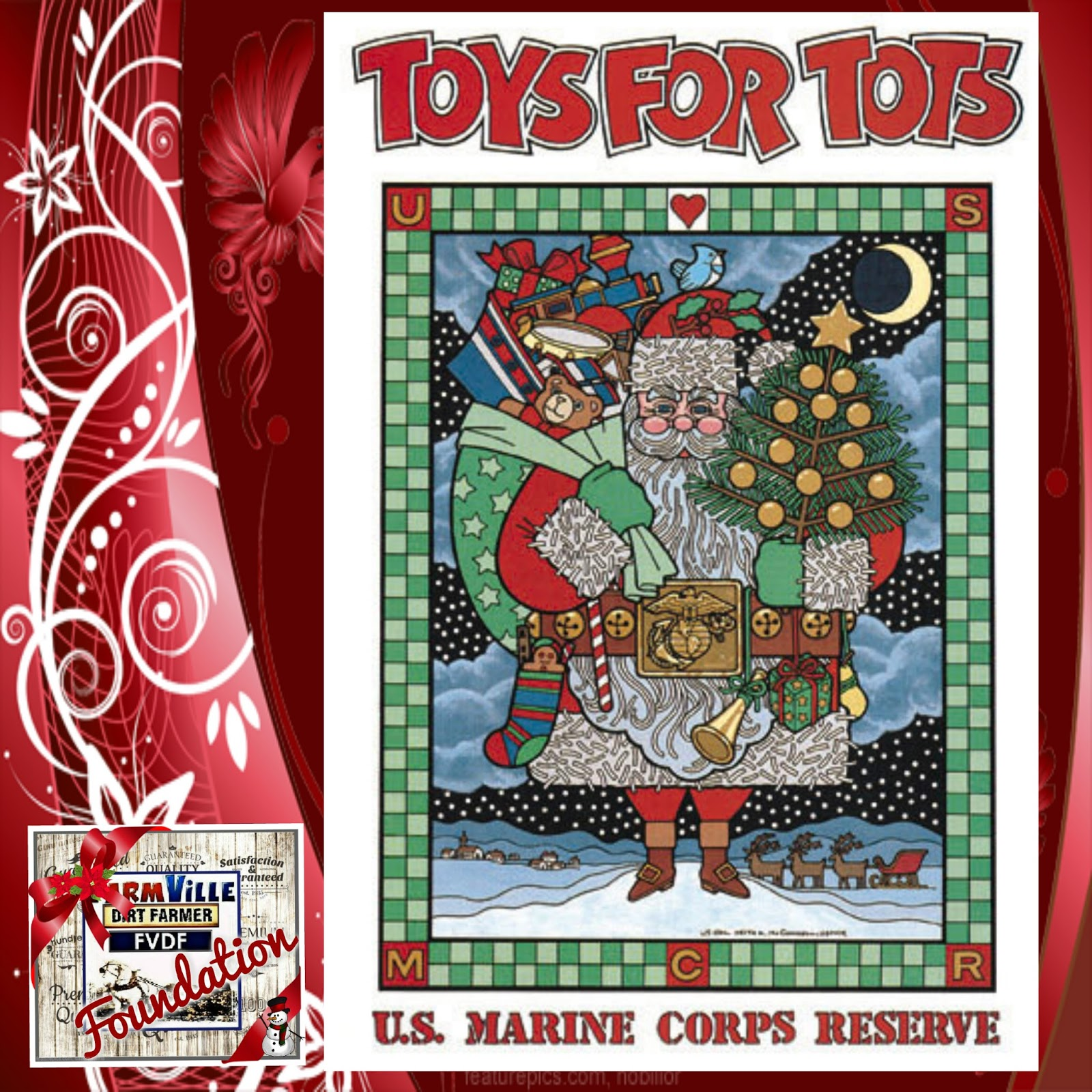 Toys For Tots Founder : The dirt farmer foundation s cause it december