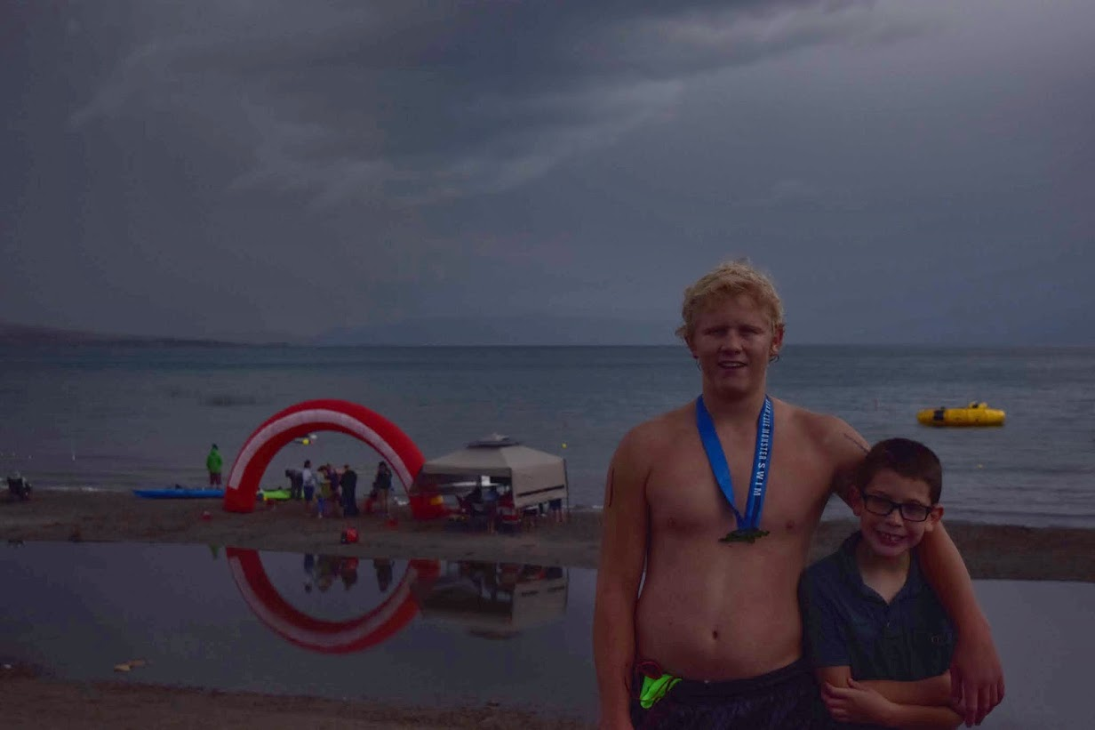 Gords swim log 2015 bear lake monster race report here are the full results of the race my friends joe and jason from south davis did awesome and will completed his 4th crossing he and i both now have 4 freerunsca Gallery