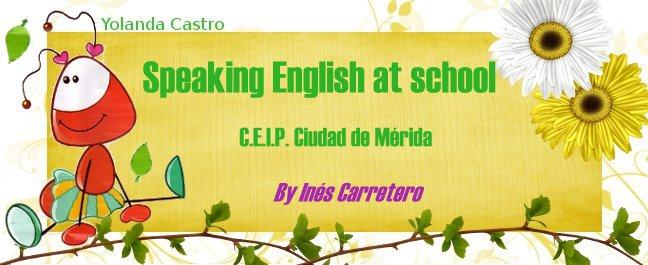 Speaking English at school.(C.E.I.P.Ciudad de Mérida)