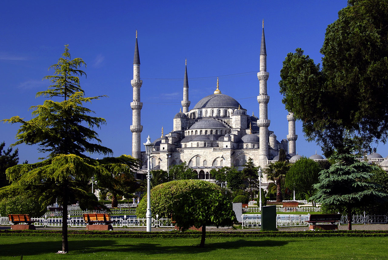Sultan Ahmed Blue Mosque Wallpapers - Islamic Wallpapers ...