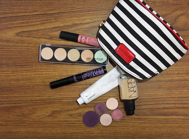 mac star violet burgundy makeup look