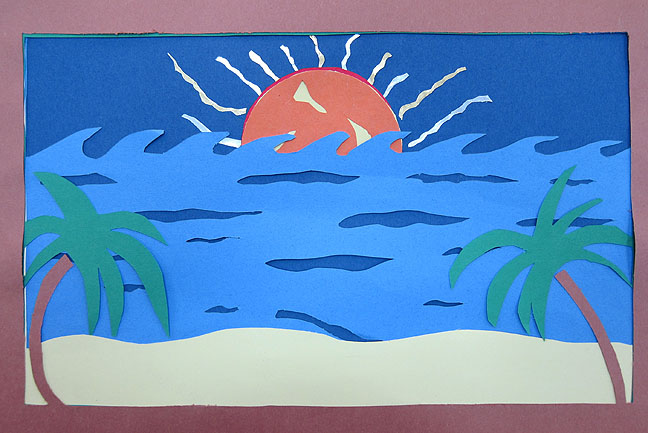 mr bob s middle high school art room construction paper layers