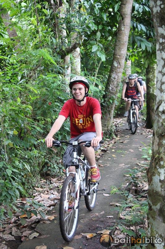 Back road and Hidden Trek Ubud Forest