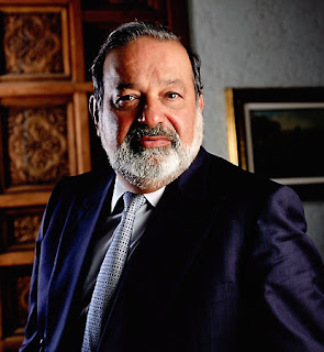 rich men: Carlos slim helu