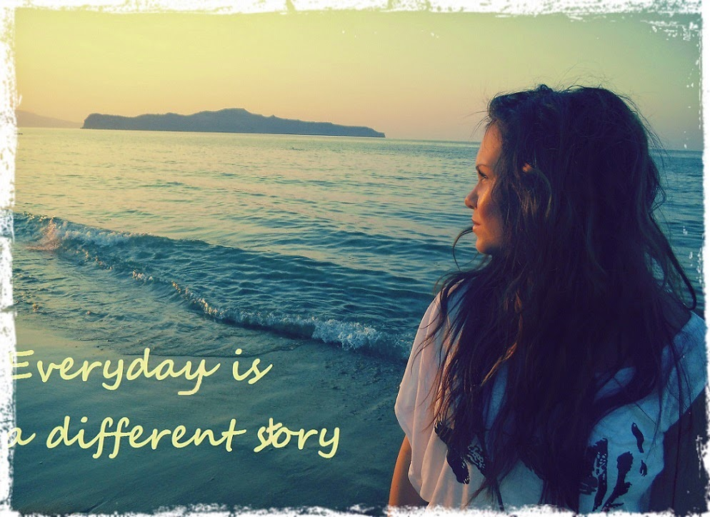 Everyday is a different story