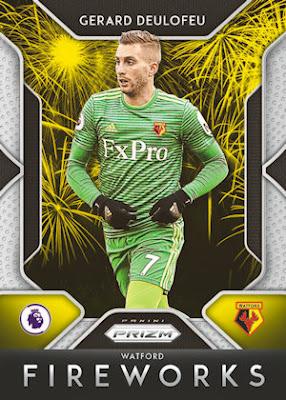 2019-20 Panini Prizm Premier League Soccer-Rojo Base Prizm Parallels #//149