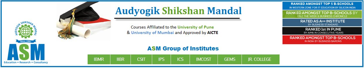 Audyogik Shikshan Mandal - ASM Group of Institutes