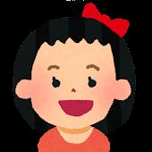 女の子の顔アイコン 11