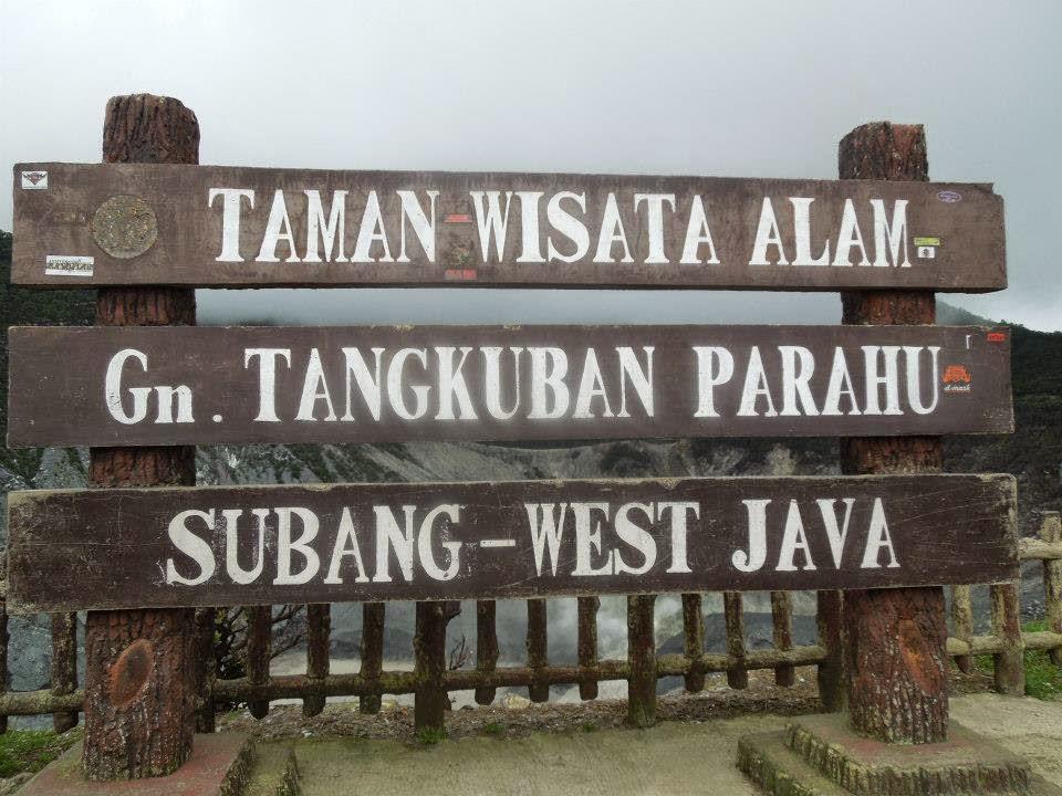 Wisata Alam Tangkuban Perahu Bandung