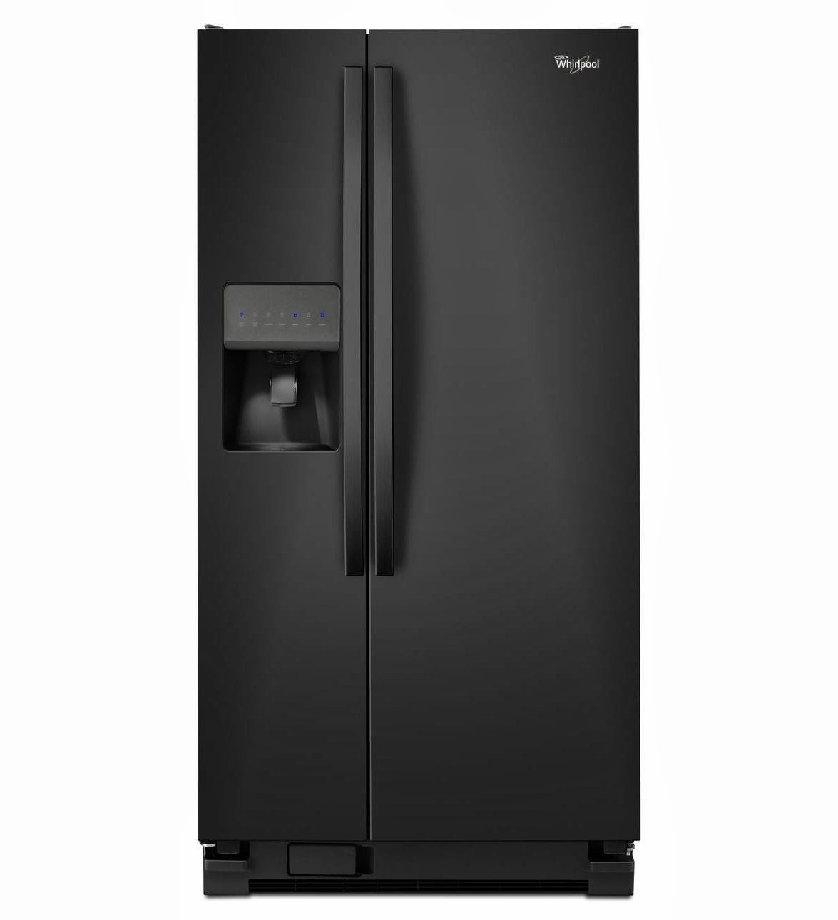 whirlpool refrigerator brand wrs322fdab black whirlpool. Black Bedroom Furniture Sets. Home Design Ideas