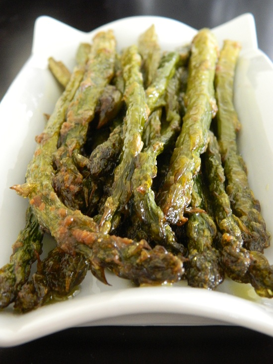 Taste of August: Oven Roasted Asparagus