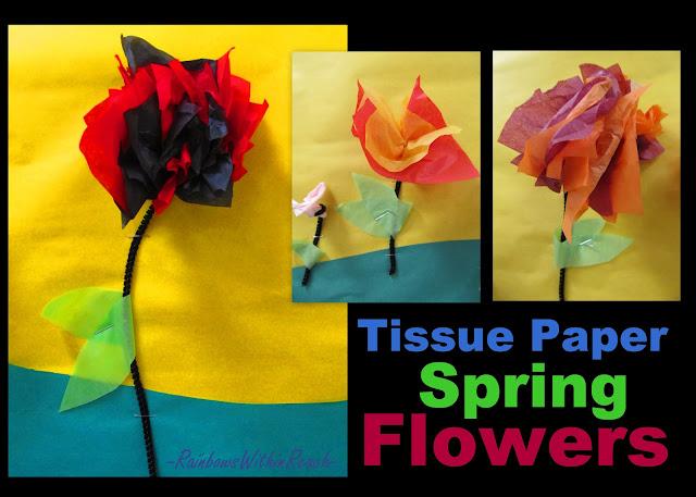 Paper Flower Art Projects
