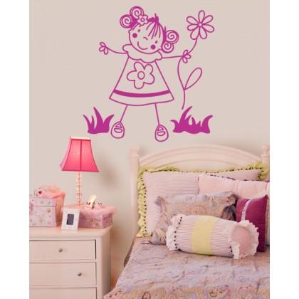 Agencia wtc vinil decorativo para hogares for Vinilos dormitorio nina