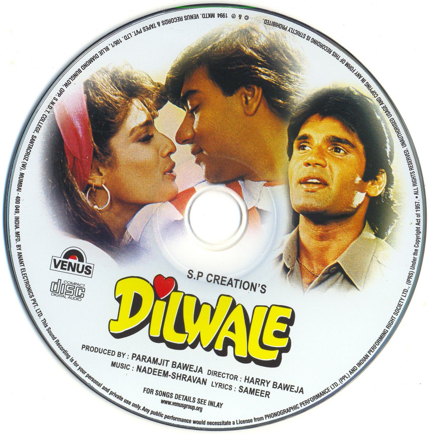 Dilwale 1994