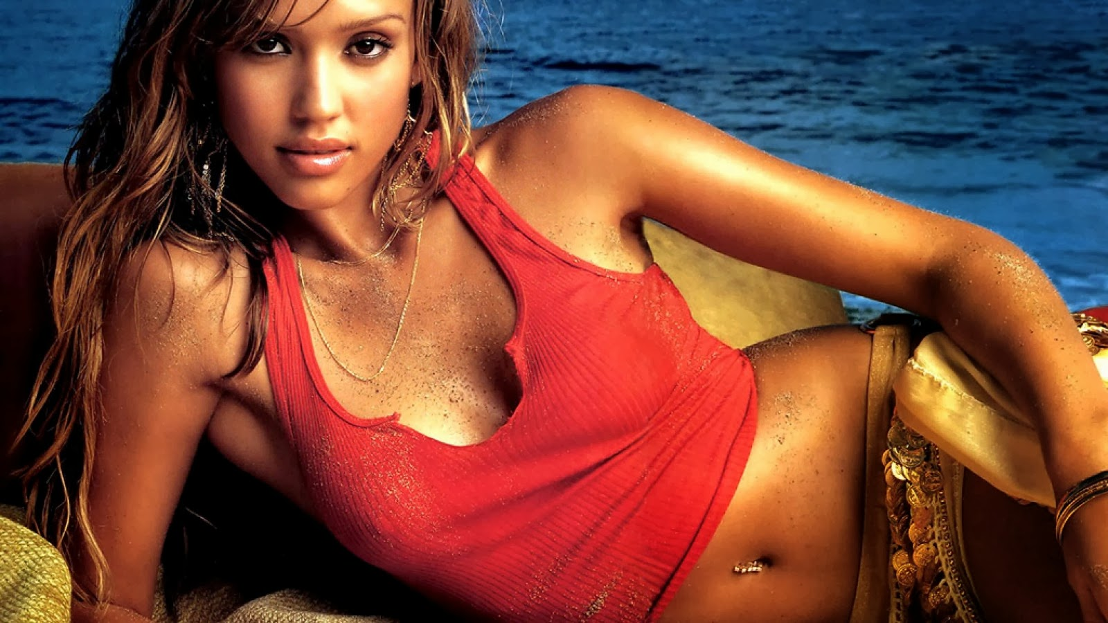 Jessica alba good luck chuck slomo