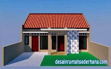 gambar desain rumah sederhana type 75 - depan. T&ak Depan & Gambar Desain Rumah Sederhana Type 75/130   Desain Rumah Sederhana ...