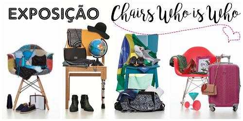 Exposição Chairs, Who is Who retrata Paulo Vilhena, Sabrina Sato entre outras celebridades em São Paulo