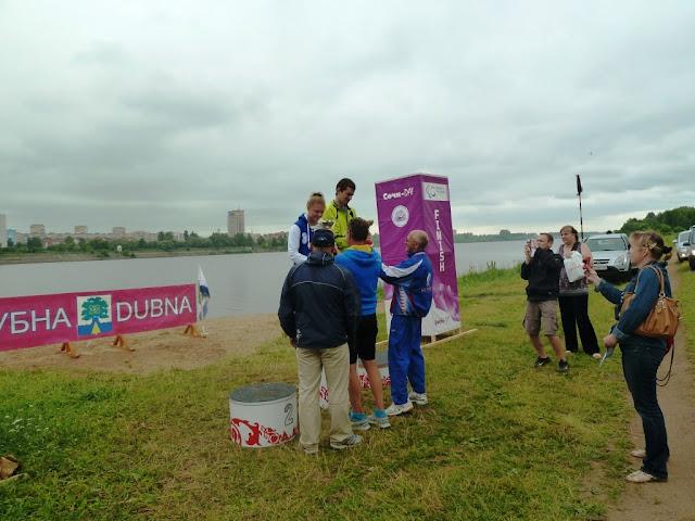 В Бронницах завершился чемпионат по триатлону