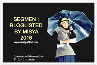 Segmen Bloglisted by Misya 2016