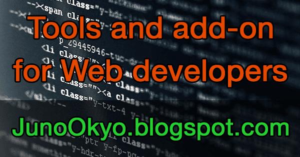 Các công cụ, add-on Firefox hữu ích cho nhà phát triển web